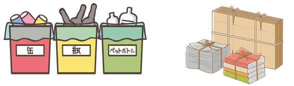 ゴミの分別